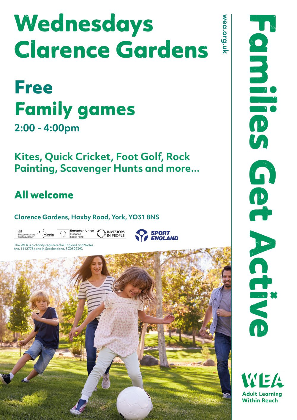 Haxby gardens family flyer