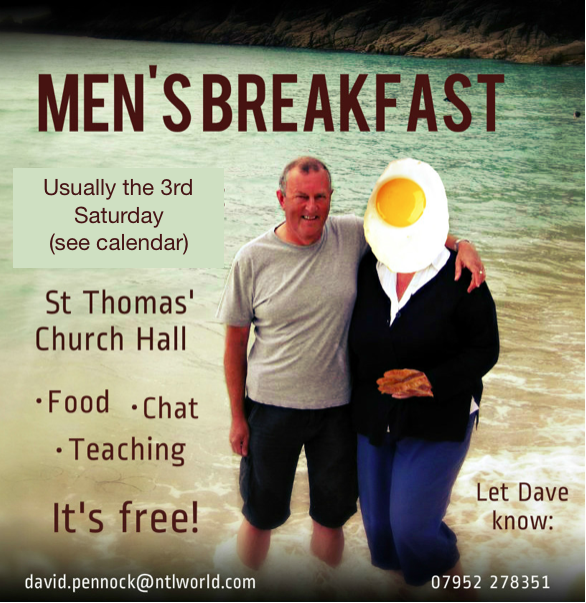 Mens Breakfast undated